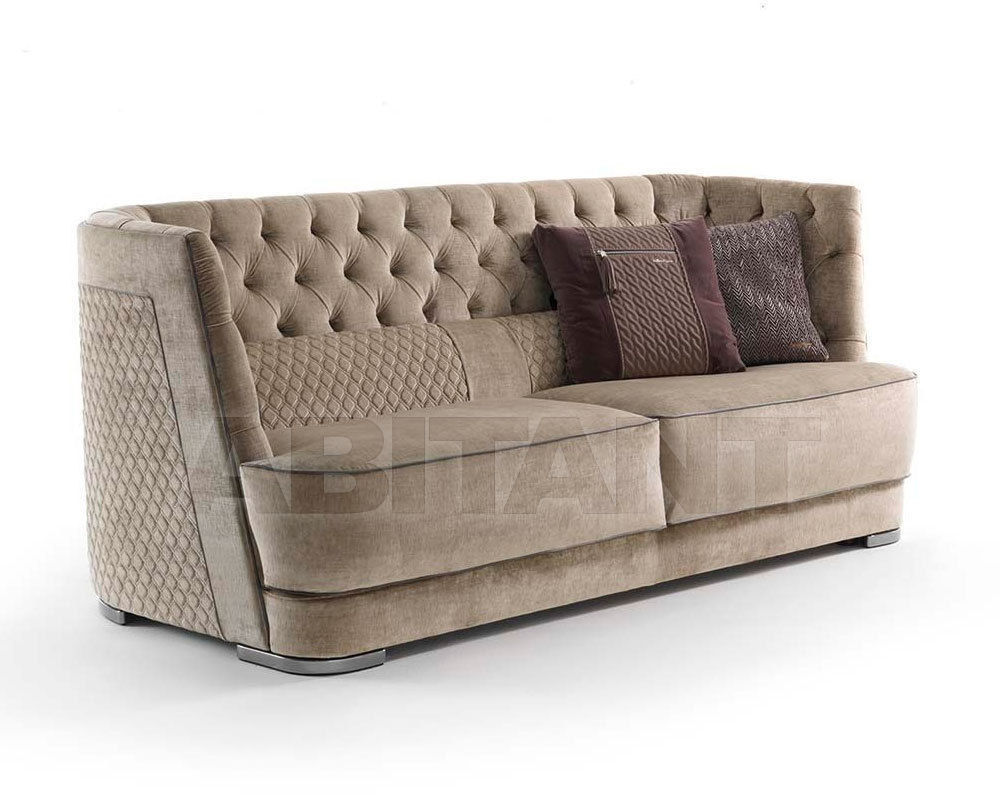 Sofa gori light beige vittoria frigerio by frigerio for Sofa poltrone e divani