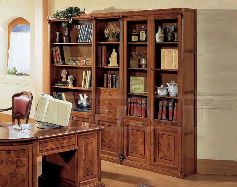 Книжный шкаф mirandola m454. классический. castel vecchio. к.