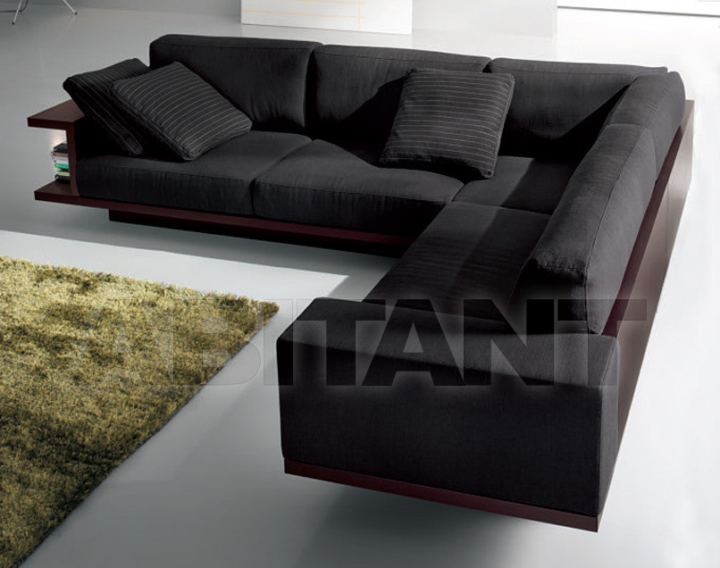 Sofa black Alf Uno s.p.a. FD10, : Buy, оrder оnline on ABITANT