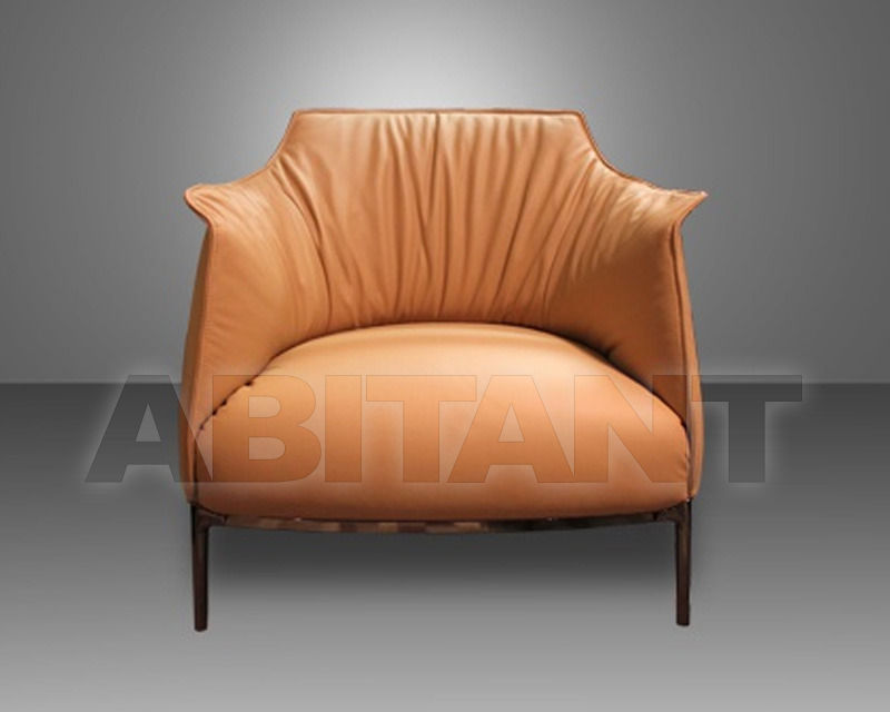 Сhair Archibald terracotta Poltrona Frau 5506111 8, : Buy, оrder ...
