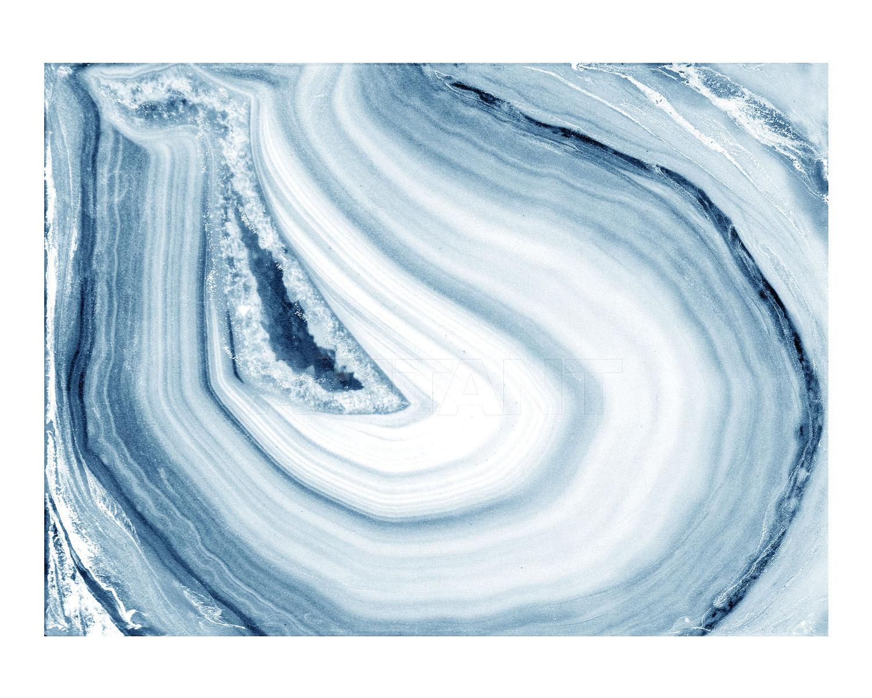 Wall panel Light blue Alex Turco Blue agate, : Buy, оrder оnline on ...