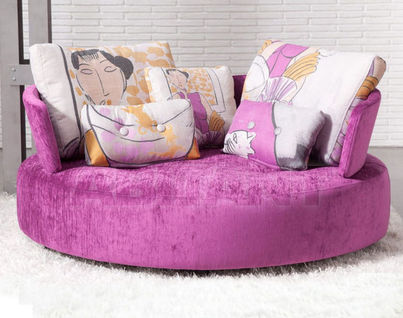 Pink Fama furniture for Living Room : Buy, оrder оnline on ABITANT