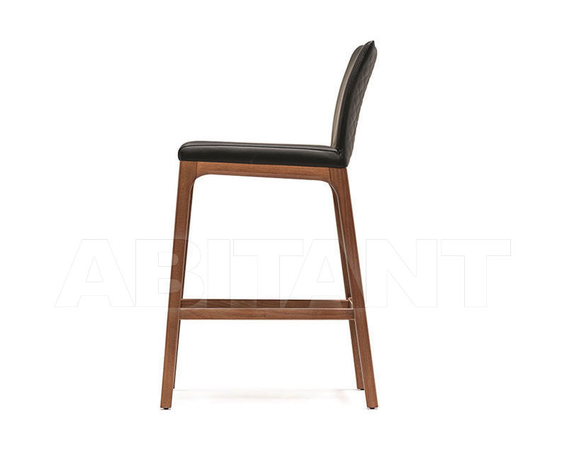 Bar stool arcadia couture sgabello black cattelan italia arcadia