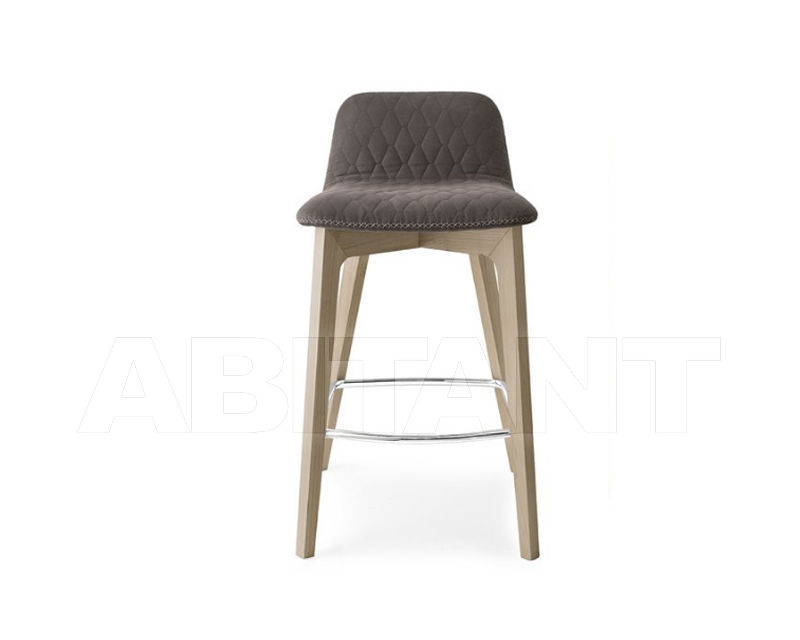 Bar stool sami dark grey connubia by calligaris cb 1488 : buy