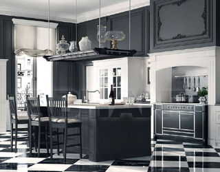 Kitchen fixtures dark grey Minacciolo PARIGI ENGLISH MOOD, : Buy ...