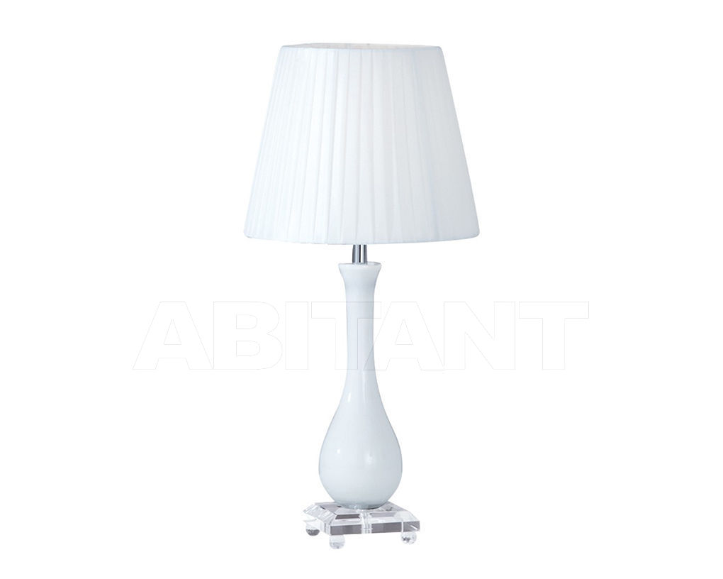 Tremendous Table Lamp White Ideal Lux 026084 Buy Order Online On Home Interior And Landscaping Mentranervesignezvosmurscom