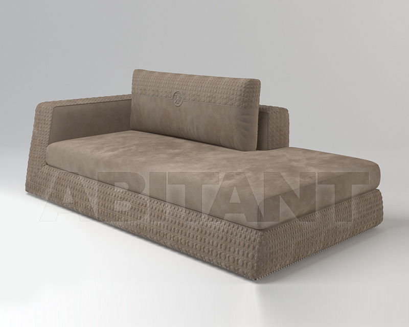 Couch APPIANI light brown Vittoria Frigerio by Frigerio ...