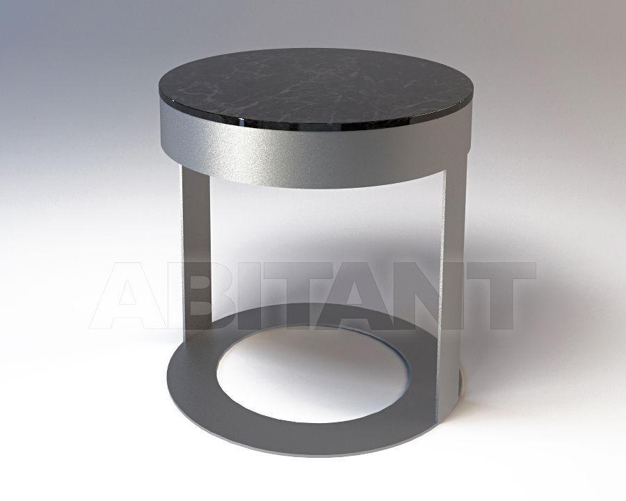 Poltrone E Sofa Livorno.Side Table Biffi Metal Silver Vittoria Frigerio By Frigerio