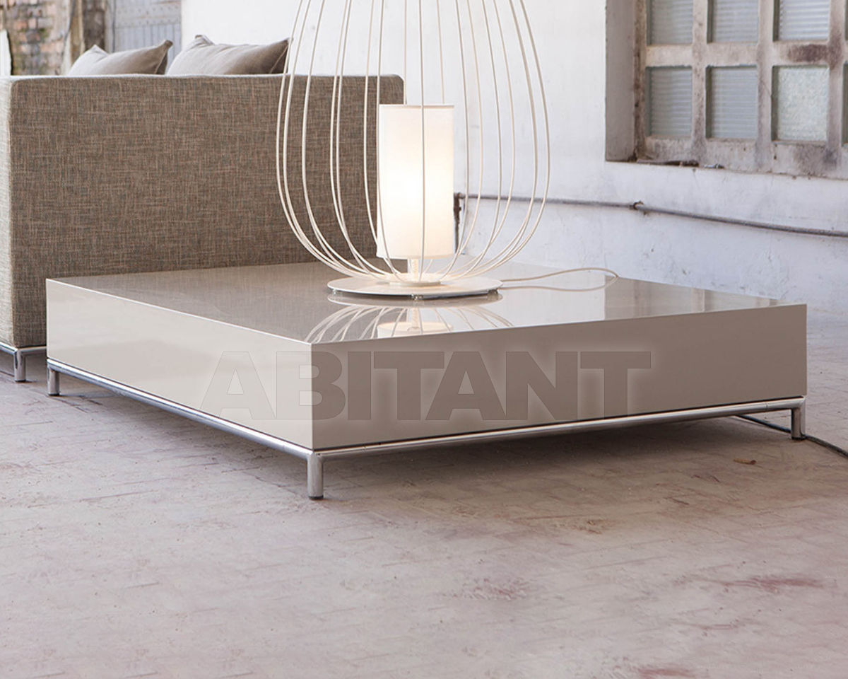 Buy Coffee table Domingo Salotti Lab NEWMAN STEEL Tavolino rettangolare