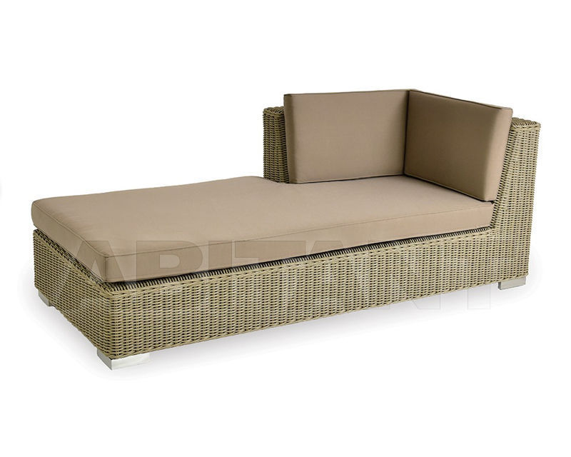 Buy Couch Indian Ocean 2018 NAUTILUS TAUPE DAYBED LEFT CAPPUCCINO