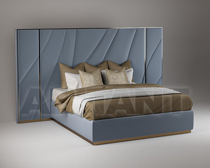 Bed Odissea Blue Paolo Castelli Amb 10 Bed