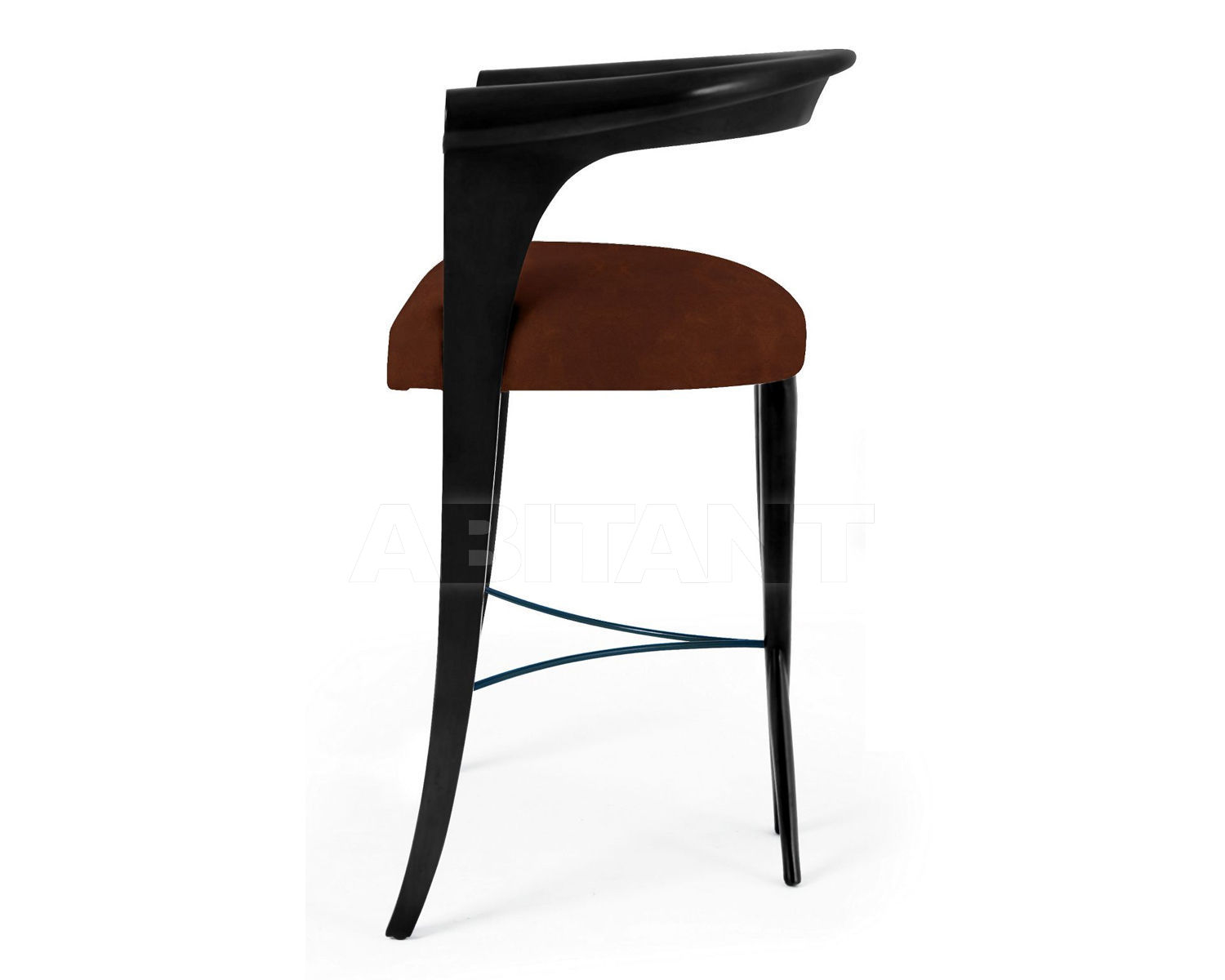 Superb Bar Stool Xaviera Black Christopher Guy 60 0023 Leather Onthecornerstone Fun Painted Chair Ideas Images Onthecornerstoneorg