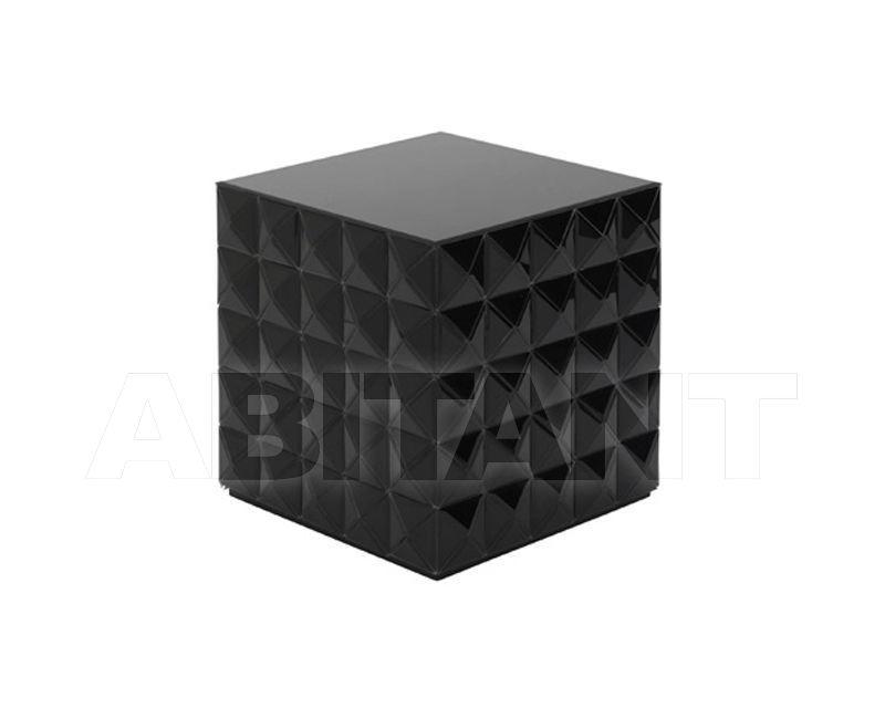 Buy Side table Reflections by Hugau 2020 HARLEKIN BLACK