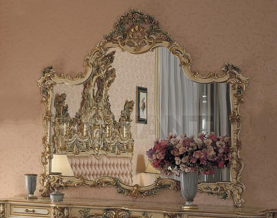 Buy Wall mirror Asnaghi Interiors Bedroom Collection 201154