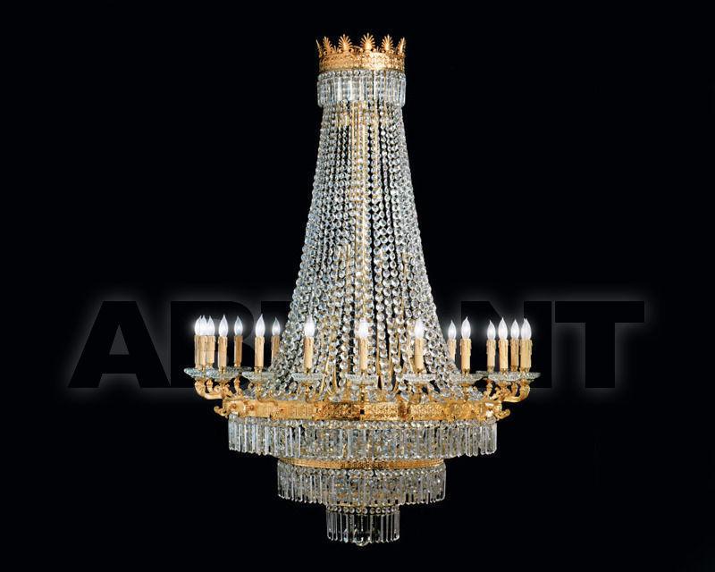 Plafoniere De Metal : Сhandelier gold renzo del ventisette & c. s.a.s l 12921 20 16 : buy