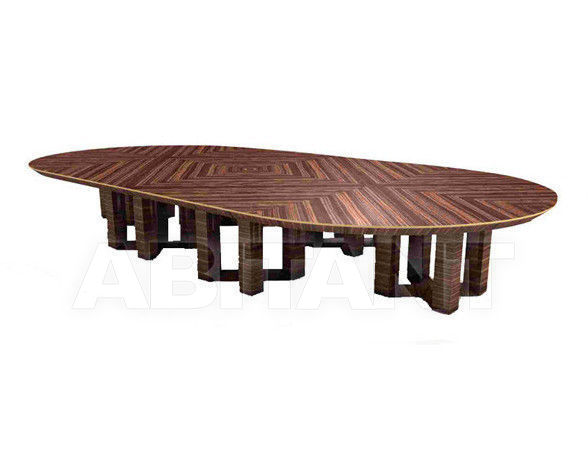 Buy Conference table ETTORE BERDONDINI  AB 1926 Historic Collection ETTORE oval table 24