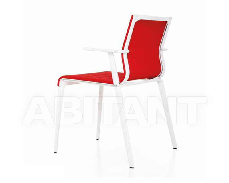 Buy Armchair ICF Office Stick 3686612 red