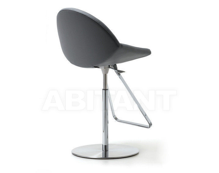 Chair gray cattelan italia kiss sgabello buy оrder оnline on