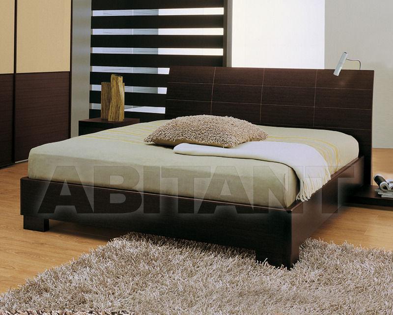Bed PAUSE brown Mobilificio Dal Cin srl TI17W